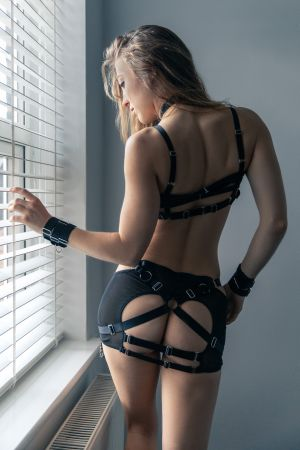 Lucy - Lingerie in the Window
